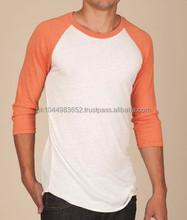 Plain raglan sleeve t shirts manufacturers in Pakistan