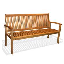 Espanyol bench 3 seater chair /Outdoor Furniture in Garden Sets/Outdoor Chair/ Acacia/Outdoor Furniture in gardens