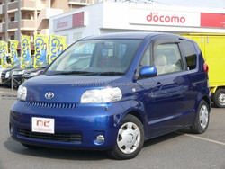 Right hand drive japanese toyota car models Porte 150R 2004 at reasonable prices