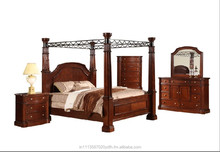 ROYAL FOUR POSTER wooden bed