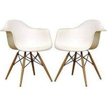 Wholesale Interiors DC-866-White Pascal Series Plastic Chair