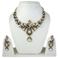 Ethnic Indian Jewellery Peacock Design Necklace Earring Set Bridal Jewellery Sets Gift For Her -BNS6793