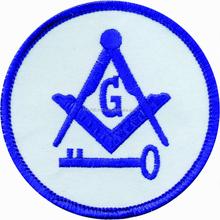 Embroidered Patch International Mason, emblems, badges crests