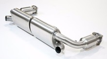 Stainless Steel Exhaust System with 200 Cell Sports Cats for Porsche 911 996 Turbo