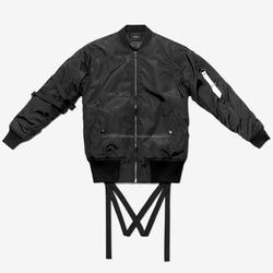 2016 Black European fashion ma-1 flight jacket, mens bomber jacket