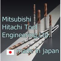 Mitsubishi Hitachi Tool Japanese High-efficiency Solid Carbide Long Life-Span Drill