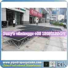Outdoor portable stage builders for concerts/weddings events on sale