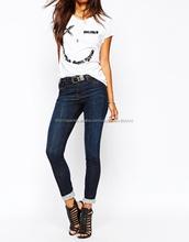 Nueva labra nuevamente famosa marca de Jeans Denim Jeans para mujeres
