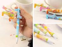 mixed colors Giraffe Plastic Ballpoint Pen