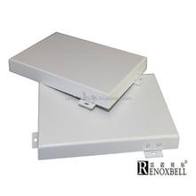 Cream White Aluminum Solid Panel For Building Material
