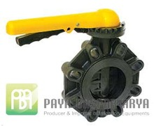 """High Performance Manual GR-PP Plastic Water Butterfly Valve 6"""""""