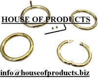 """Bull Ring - Brass - Small 2 1/2"""" X 5/16"""" / Bull Nose Ring / High Quality Veterinary Instruments"""