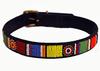 Maasai Beade Dog Collar