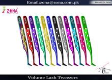 Titamiun Volume Lash Tweezers / Get Titan Volume Lash Tweezers Under Customized Brand Name From Zona Pakistan