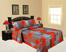 indian Apple of my eye double bedspread bedsheet New Design Elegant Flower Printing Colorful Magic High Quality bed sheet