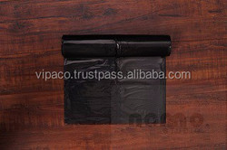 Vietnamese HDPE plastic gabage bag on roll for export