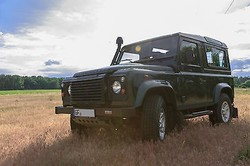 Used Land Rover Defender 90 Station Wagon - Left Hand Drive- Stock no: 12369