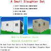 Mobile slaughter machine modular slaughter equipment poultry slaughter unit small sluaughter by yourself on your farm