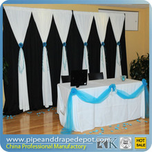 RK telescopic pipe and drape - Photo Booth Package/ wedding tent/trade show