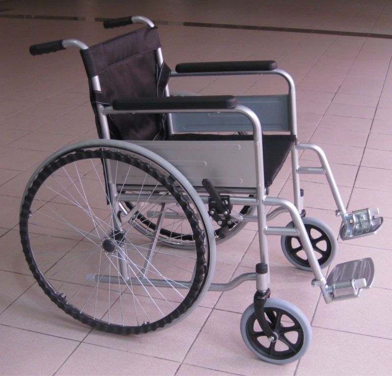 Solid tyre wheelchair p2