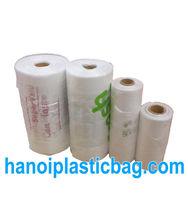 HIGH QUALITY PLAIN T SHIRT BAG ON ROLL WITH CORE - hanoi plastic bag jsc skype: jennifer.hanoiplasticbag