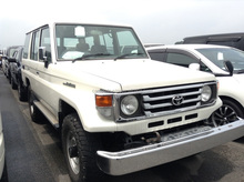 RECYCLED VEHICLES FOR SALE IN JAPAN FOR TOYOTA LAND CRUISER 70 LX HZJ76V