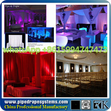 Pipe drape mandap round   free standing photo booth for sale