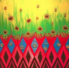 Batik paintings on canvas
