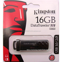 Authentic KINGSTON Dat Traveler DT111 USB 3.0 Flash Drive New 16GB 16G 16 G GB DT11116GB