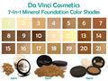 Base maquillaje de minerales - Da Vinci Cosmetics - 21 Bases en Polvo
