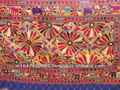 el último diseño 2015 nueva llegada india hecho a mano el trabajo del espejo de la pared cuelgan vintage antiguo de tapices