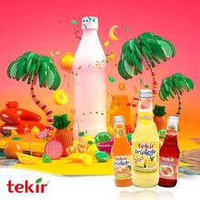 fruit flavored carbonated soft drink