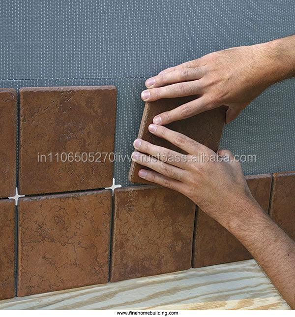 Gluing to ceramic tile