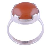 Carnelian piedra venta al por mayor anillos de piedras preciosas R0003