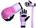 evo damas de boxeo de neopreno guantes gel