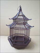bamboo cage, pet cage, animal cage