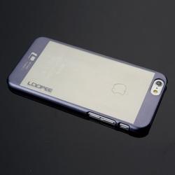Hot Sale Plating Transparent Plastic Shell case for iPhone 6 Plus / 6s Plus