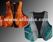 de algodón de seda tops fuerte la idea con el patrón de la forma