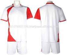Alta calidad venta al por mayor ropa de deporte caliente de la venta traje de fútbol barato de impresión de pantalla
