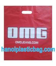 OMG PATCHED HANDLE PLASTIC BAG exported to USA