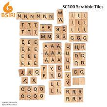 scrabble wooden letters