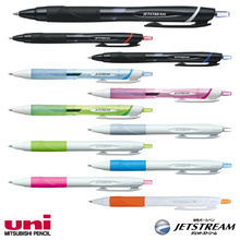 Easy to use and High quality frixion ball knock 10colors set uni jetstream with superlow friction ink made in Japan