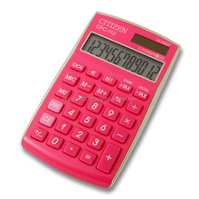 CPC112 Citizen Calculator in pink from Citizen Systems