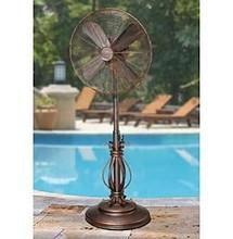 "Breeze DBF1080 18"" Art Deco Oscillating Outdoor Fan"