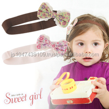 Japanese wholesale products high quality cute infant headbands baby hair accessories headband for toddler clothes kids clothing