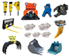 Heavy Equipments parts & Attachments