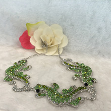 2016 China Manufacturer Wholesale Sterling Silver Green CZ Bridal Jewelry Sets