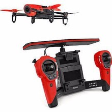 hot selling price Parrot Bebop Drone Quadcopter with Skycontroller Bundle (Red)