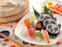 cooking utensils panda rolled sushi nori molds maker set Japanese sushi tools how to make guide 75951