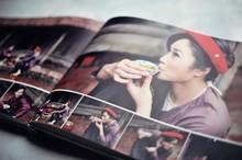 Perfect colorful photobook printing